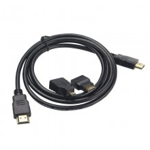 Cavo HDMI DA 1,5 metri HD 1080p TV XBOX360 PS3 adattatori micro mini