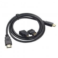 Cavo HDMI DA 1,5 metri HD 1080p TV XBOX360 PS3 adattatori micro mini