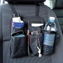 Organizzatore auto porta oggetti sedile retro tasche schienale bottiglie