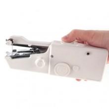 Mini macchina cucire portatile viaggio salva spazio manuale batterie