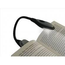 Lampada lettura clip LED notturna luce copertina libri torcia portatile batterie
