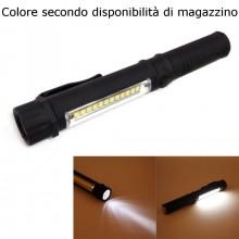 Portachiavi LED mini torcia luce lampada tasto accensione anello chiavi