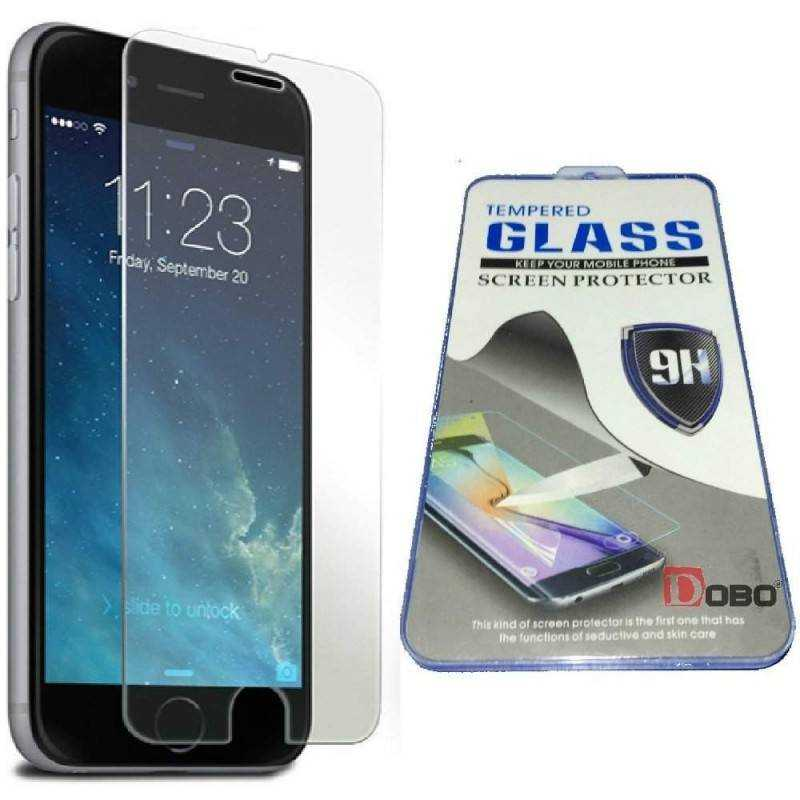 DOBO® - Pellicola protettiva in vetro temperato anti bolle Screen Protector per Apple iPhone 6 PLUS 5.5""