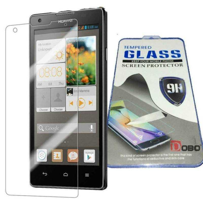 Pellicola protettiva in vetro temperato anti bolle Screen Protector per Huawei Ascend G700