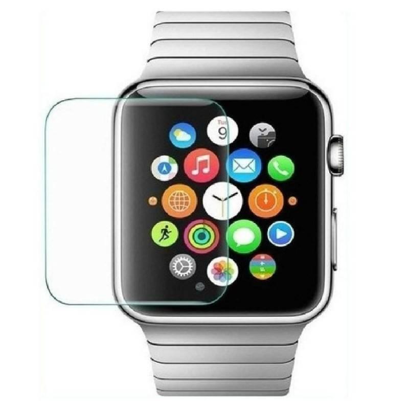 Pellicola protettiva in vetro temperato anti bolle Screen Protector compatibile Apple Watch iWatch versione da 42mm