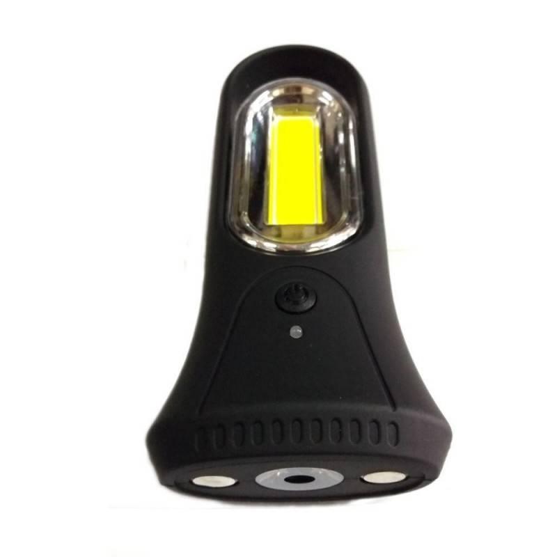Mini torcia alluminio torce luce LED lampadina cordino batterie illuminazione