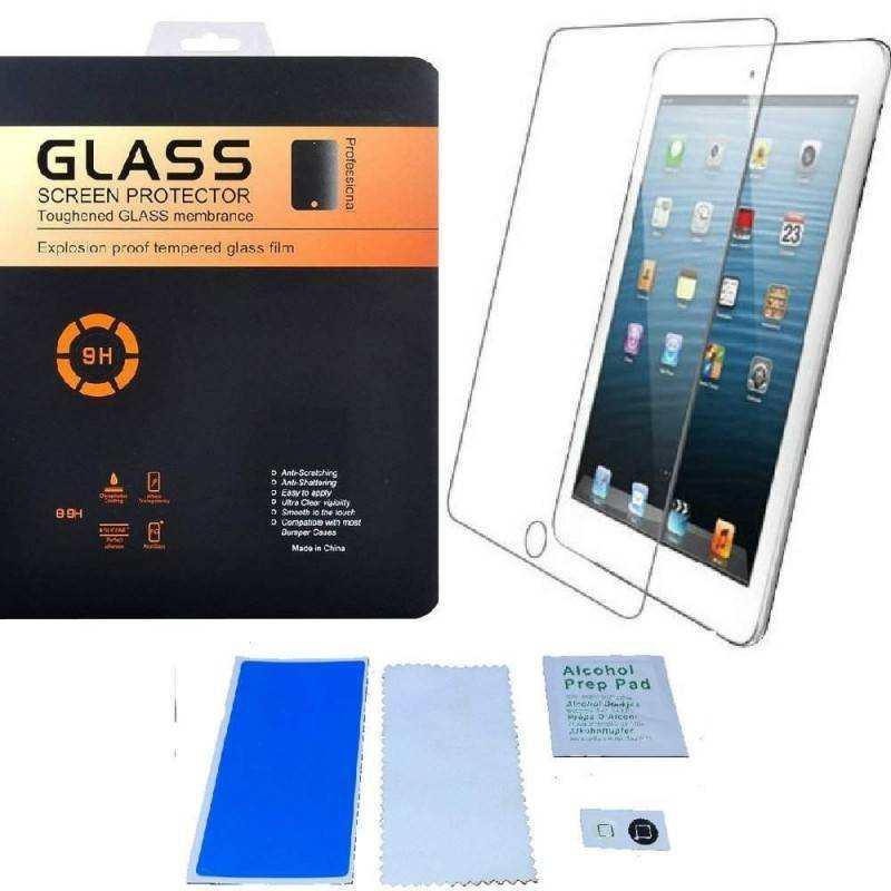 Pellicola protettiva in vetro temperato anti bolle Screen Protector per Apple iPad 5 (iPAD AIR)