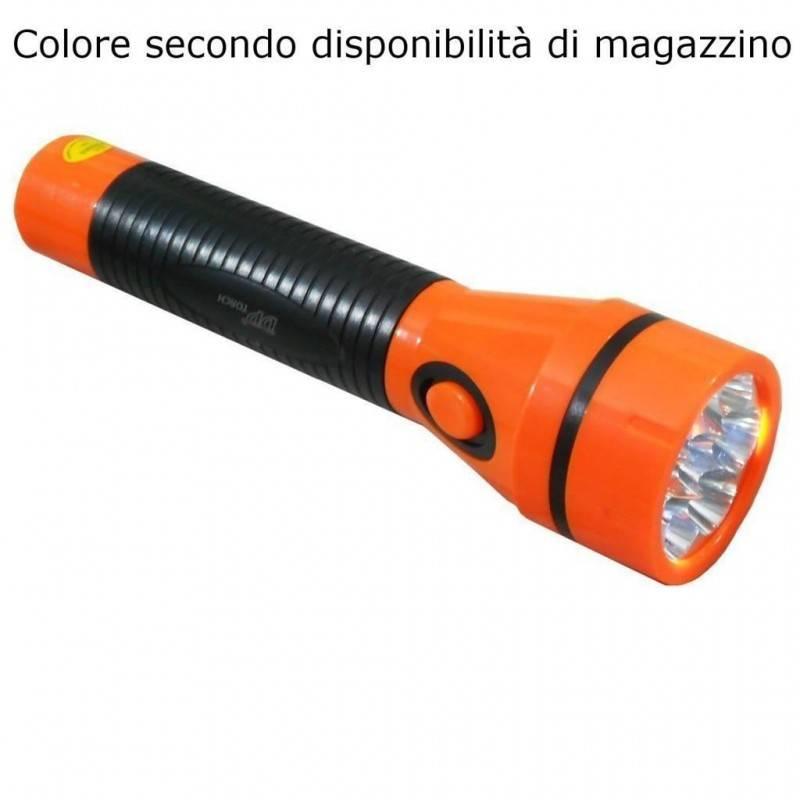 Torcia lanterna lavoro portatile LED magnetica ricaricabile trekking escursioni