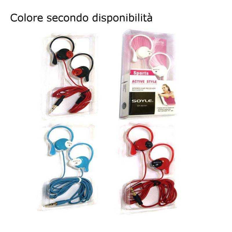 Auricolare telefono cuffie mp3 computer ipod iphone auricolari musica cuffiette