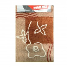 3 x tappeto bagno vari colori cotone riccio con base antiscivolo 60 x 40 cm
