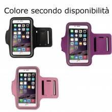 Fascia braccio telefono smartphone corsa fitness palestra touchscreen neoprene