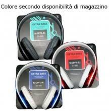 SY985 cuffie cuffia cavo rimovibile smartphone PC cavo rimovibile jack 3,5mm AUX