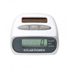 Contapassi pedometro carica solare conta passi calorie distanza chilometri