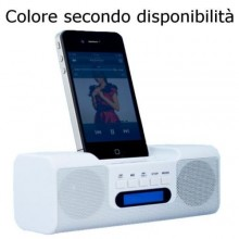 Cassa portatile smartphone speaker altoparlante iphone 3G 3GS 4 4S riproduzione