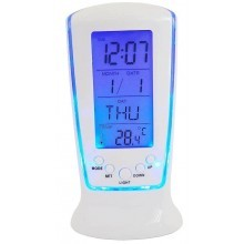 DS510 Sveglia digitale allarme calendario illuminata temperatura termometro