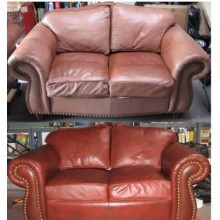 KIT restauro pelle ravviva divano scarpe sedili auto ripara cuoio DIY