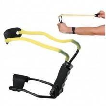 Fionda con appoggio polso PLE reclinabile ed elastico in silicone chirurgico
