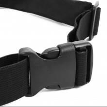 Marsupio cintura elastica tasca moschettone vita sport viaggio regolabile colore