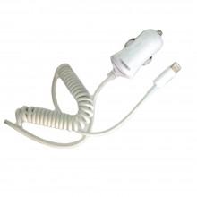 Presa cavo spiralato 8 pin 12 volt auto accendisigari USB iPhone smartphone