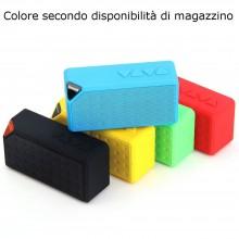 Cassa proiettile portatile smartphone PC speaker altoparlante SD micro AUX