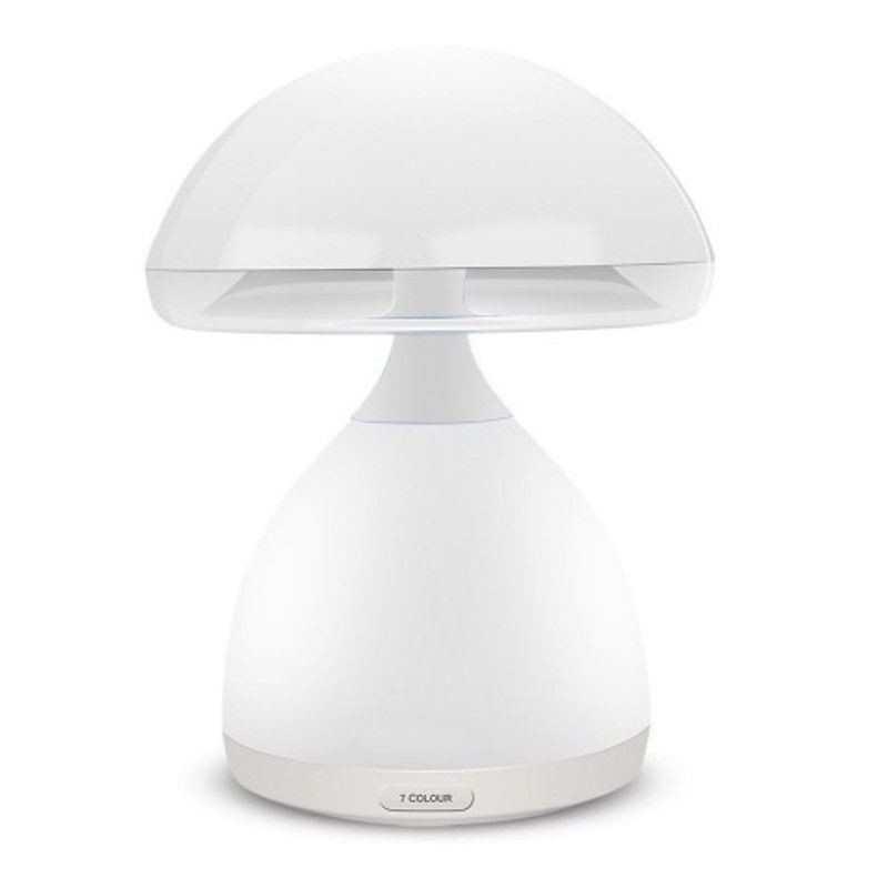 Lampada fungo cromatica interruttore touch LED colore ricaricabile sfumata sonno
