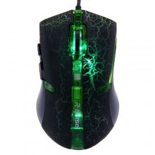 FC-5160 Mouse cablato cavo LED colorato 5 tasti rotella gaming tasto DPI windows