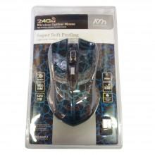 Mouse cablato cavo LED colorato 3 tasti rotella gaming tasto DP bianco nero