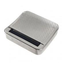 Porta tabacco alluminio macchinetta componi sigarette fumatori accessori scatola