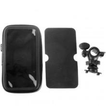 Supporto impermeabile da manubrio per Bicicletta / Bici / Moto specifico per Samsung Galaxy Note 3 III N9000 N9005