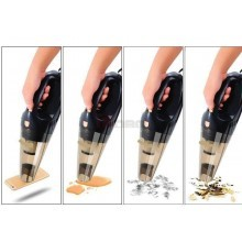 Aspiratore aspiraliquidi per auto 12V accendisigari 5m pulizia filtro acciao