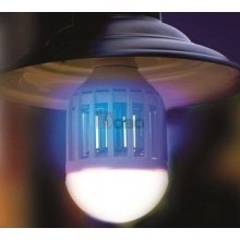Lampadina E27 stermina insetti ammazza zanzare mosche 9W zanzariera lampada
