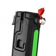 Torcia LED martello vetro lampada ricaricabile magnetica pinza officina garage