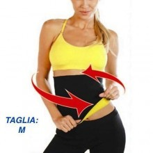 FASCIA SAUNA FITNESS SNELLENTE DIMAGRANTE HOT SHAPERS EFFETTO SAUNA IN NEOPRENE ANALLERGICO