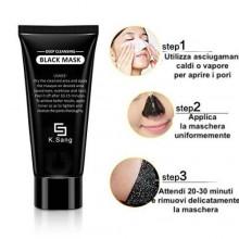 BLACK MASK maschera di bellezza pulizia viso punti neri rimuovere 60g peel off