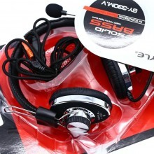 Cuffie Skype PC Headset Headphones con microfono Computer Gaming Chat 2 jack 3.5