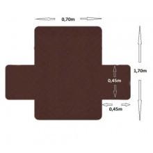 Copri poltrona reversibile protezione federa sofa peli cane gatto polvere coat