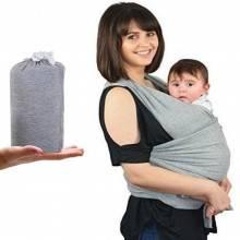 Fascia porta bimbo bimba bebe neonato mamma marsupio trasporto mani libere