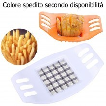 Accessorio lame patatine fritte affetta patate chips french fries cucina verdura