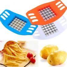 Accessorio lame patatine fritte affetta patate chips french fries cucina verdura