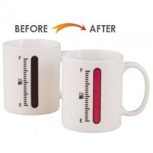 Tazza termica termosensibile magica calore indicatore serbatoio vuoto pieno
