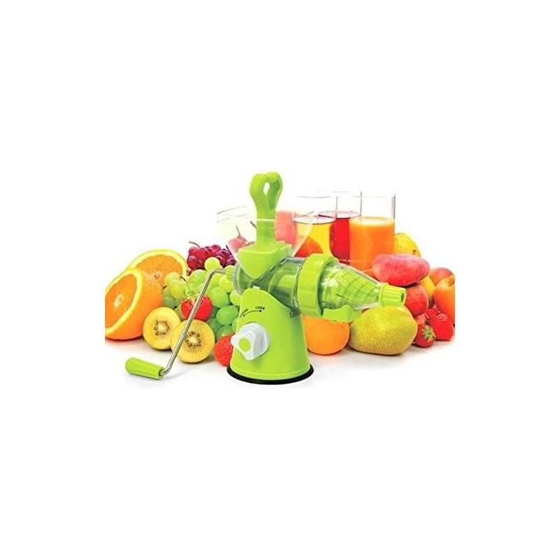 Spremiagrumi Centrifuga Manuale a manovella spremi agrumi per frutta e verdura - Bianco e Verde
