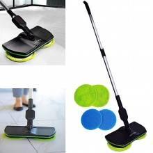 Lava pavimento rotante mocio elettrico pavimenti straccio scopa ricaricabile