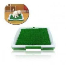 Lettiera mini wc per cani e gatti con erba sintetica assorbente