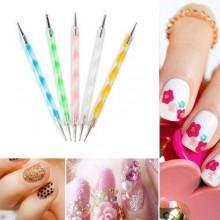 Dotter unghie smalto decorazione manicure pedicure nail art donna spot gel