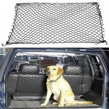 Rete divisore porta bagagli cane animali trasporto auto elastica 85 x 75 cm
