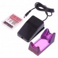 MM25000 Fresa per unghie manicure con base regolazione velocità pedale elettrica