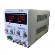 Alimentatore Stabilizzato da banco Trasformatore corrente professionale regolabile fino a 30V e 5A