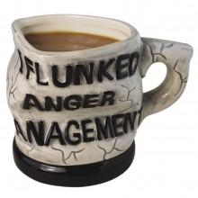 Tazza gigante big boss mug colazione caffè americano nera ceramica grande capo