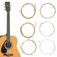 4 pacchi 24 corde chitarra acustica professionale bronzo classica leggere corda