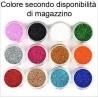 15x Barattoli di Brillantini decorazione unghie polvere colorata nail art salone manicure